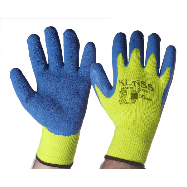 T2507 Gloves Work Winter High Vis 1